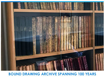 drop forging drawing archives spanning 100 years