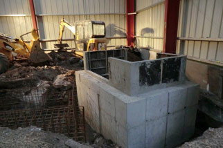 new foundations drop forging factory refurbishment wh tildesley