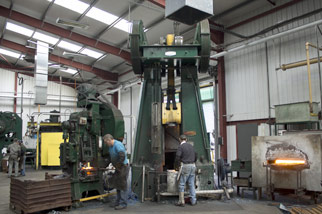 drop forging factory refurbishment whtildesley