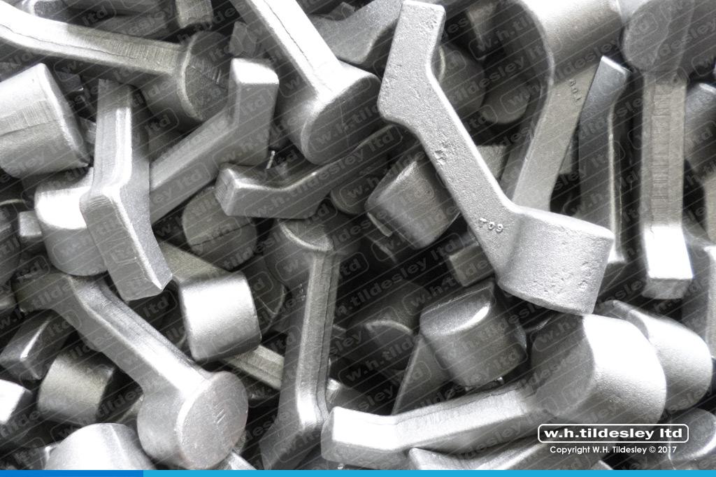 reaction foot forgings in 605M36 material