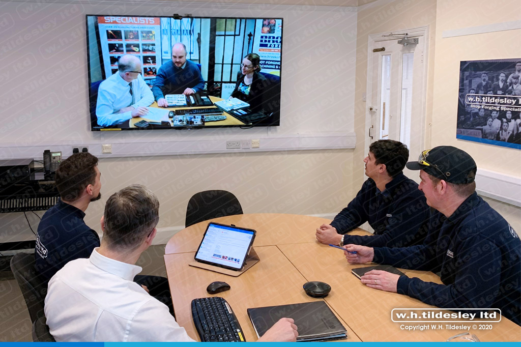 video conference suite at whtildesley