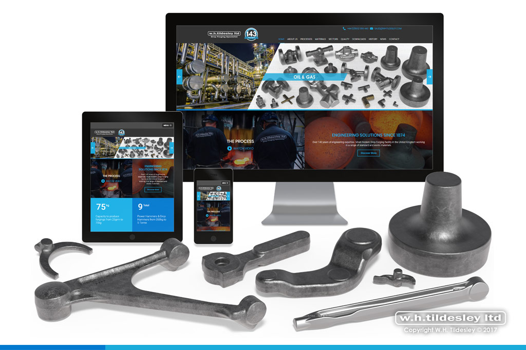 wh tildesley launch brand new website