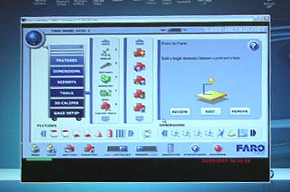 cmm faro arm inspection technical data