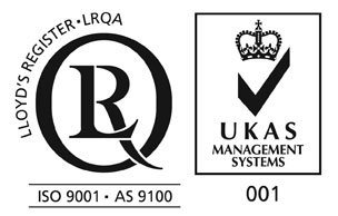 iso9001 and as9100 LRQA approval