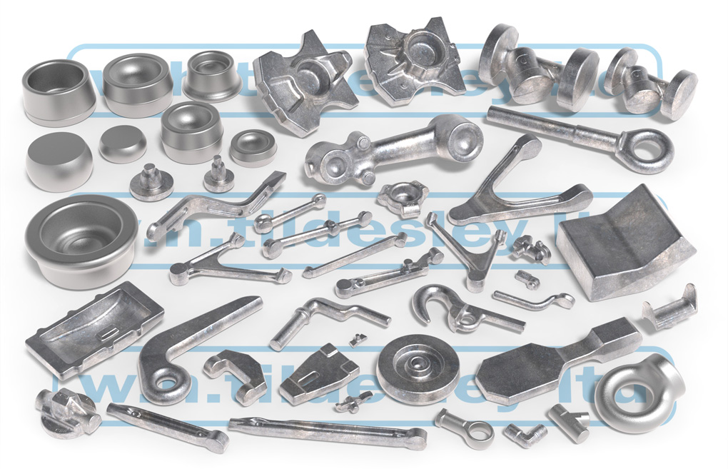 forged aluminium components examples
