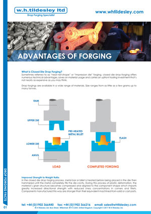 Advantages of Forging