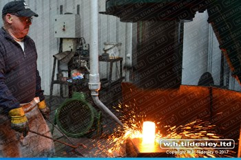 drop-forging-pre-forming-free-flow-open-die