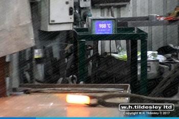 drop-forging-temperature-monitoring