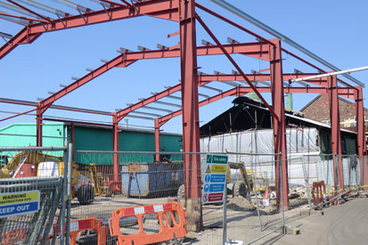 WHT Forge Ahead with £1.4M Refurbishment