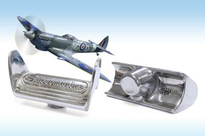 WHT Replicates Aluminium Rudder Pedal For Legendary Supermarine Spitfire