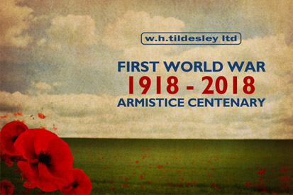 First World War Armistice Centenary 1918 - 2018